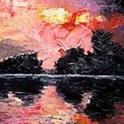 Sunset. After Storm. Print by Sergey Bezhinets