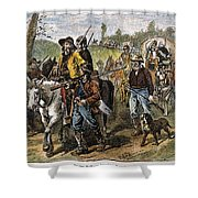 Kansas-nebraska Act, 1856 Shower Curtain by Granger