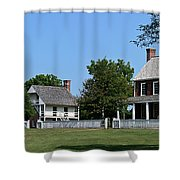 Clover Hill Tavern Appomattox Court House Virginia Shower Curtain by Teresa Mucha