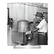 Jim Crow Laws 1939 Shower Curtain by Granger