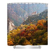 King's Fortress Shower Curtain by Evgeni Dinev