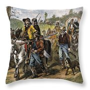 Kansas-nebraska Act, 1856 Throw Pillow by Granger