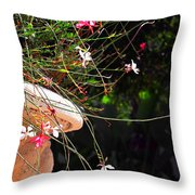 Filigree-iii Throw Pillow by Susanne Van Hulst