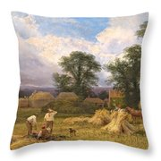 Harvest Time Throw Pillow by GV Cole