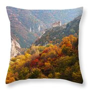 King's Fortress Throw Pillow by Evgeni Dinev
