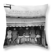 Texas: Luncheonette, 1939 Throw Pillow by Granger