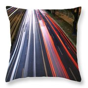 Traffic Lights Throw Pillow by Carlos Caetano