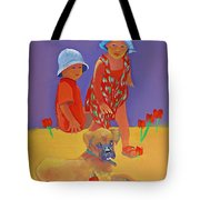 The Boxer Puppy Tote Bag by Charles Stuart