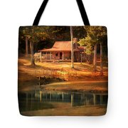 A Place To Dream Tote Bag by Jai Johnson