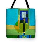 Abstract Shapes Color Two Tote Bag by Gary Grayson