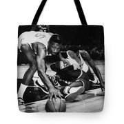 Bill Russell (1934- ) Tote Bag by Granger