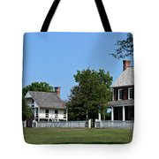 Clover Hill Tavern Appomattox Court House Virginia Tote Bag by Teresa Mucha