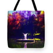 Lake Angel St. Mary's Ambler Tote Bag by Bill Cannon