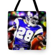 Magical Adrian Peterson   Tote Bag by Paul Van Scott