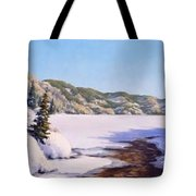 March Thaw Tote Bag by Rick Hansen