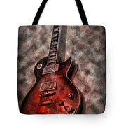 Me And My Les Paul Tote Bag by Bill Cannon