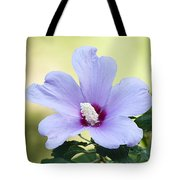 Purple Althea Tote Bag by Kenneth Albin