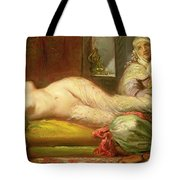 Reclining Odalisque Tote Bag by Theodore Chasseriau