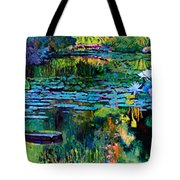 The Abstraction Of Beauty One And Two Tote Bag by John Lautermilch