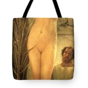 The Sculptor's Model Tote Bag by Sir Lawrence Alma-Tadema
