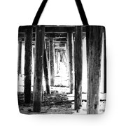 Under The Pier Tote Bag by Linda Woods