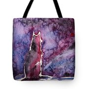 Waiting Tote Bag by Zaira Dzhaubaeva