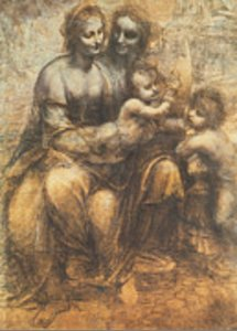 Leonardo Da Vinci - The Virgin and Child with Saint Anne and the Infant Saint John the Baptist
