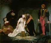 Hippolyte Delaroche  - The Execution of Lady Jane Grey