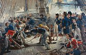 William Heysham Overend  - The Hero of Trafalgar