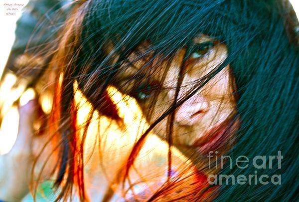 Into The Fire - I Love You  Photograph by  Andrzej Goszcz