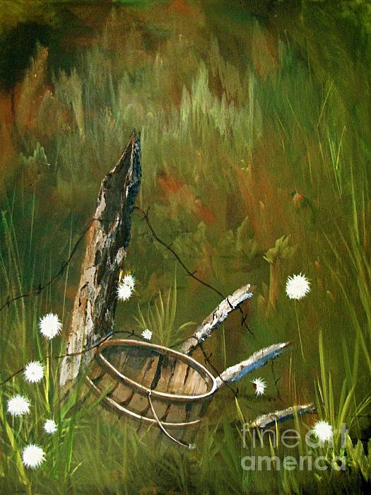 Brush Painting -  Renewed by Sharon Burger