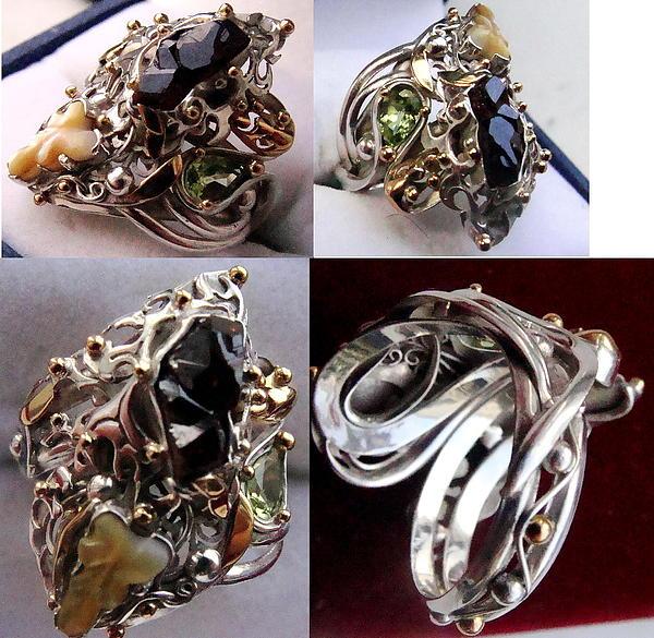 Free Jewelry -  Ring Bizantium by Mikhail Savchenko
