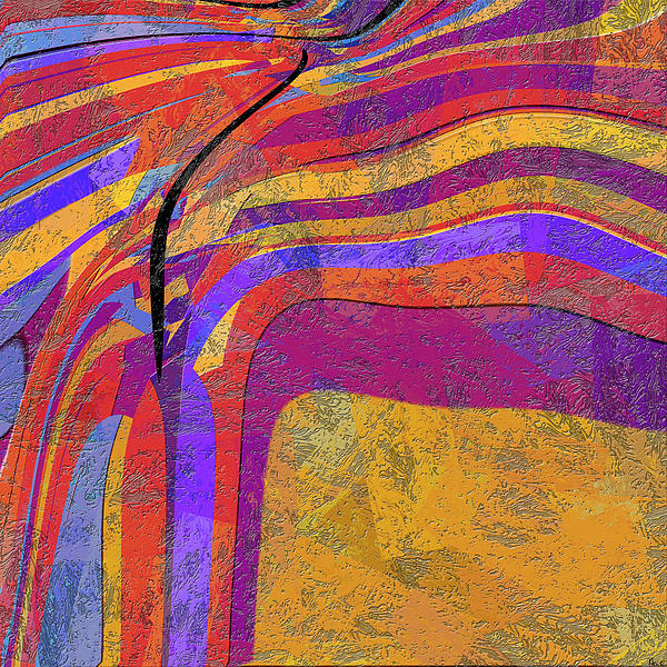 Abstract Digital Art - 0871 Abstract Thought by Chowdary V Arikatla