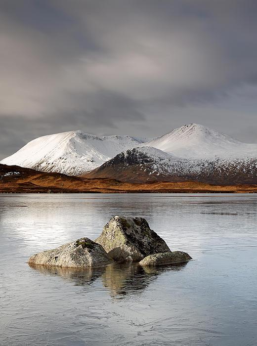 Glencoe Photograph -  Lochan Na H-achlaise by Grant Glendinning