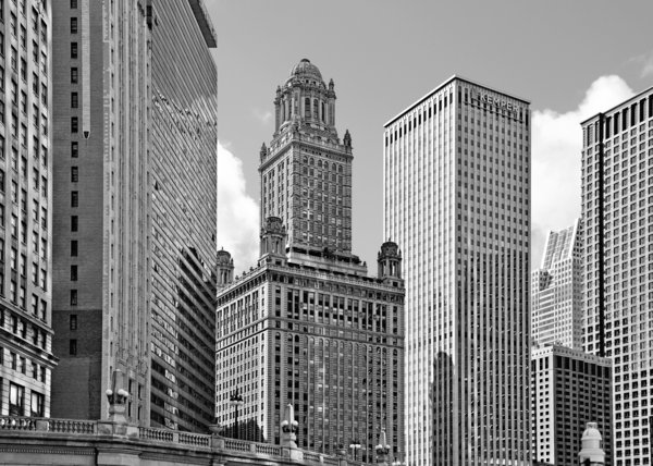 Chicago Photograph - 35 East Wacker Chicago - Jewelers Building by Christine Till