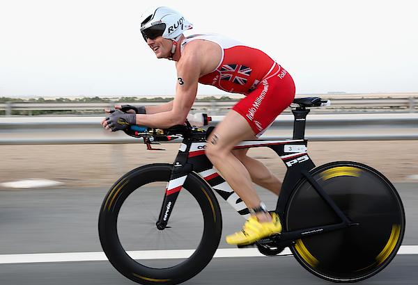 Abu Dhabi Triathlon Photograph by Warren Little