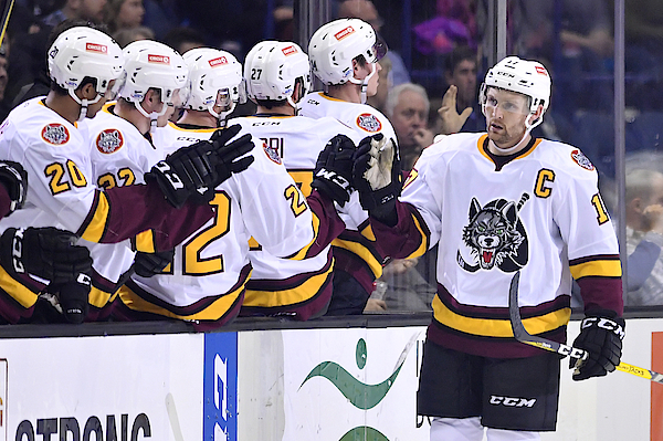 Ahl: Dec 02 Grand Rapids Griffins At Chicago Wolves Photograph by Icon Sportswire