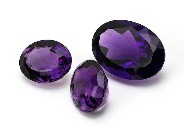 Amethyst Gemstone 1 Photograph by SunChan