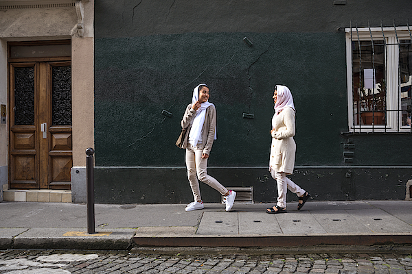 Arab Youth In Paris - Middle Eastern Millennials Photograph by LeoPatrizi