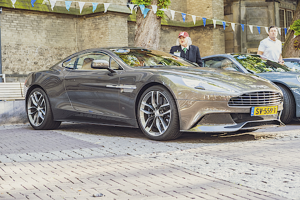 Aston Martin Vanquish Sports Car Photograph by Sjo