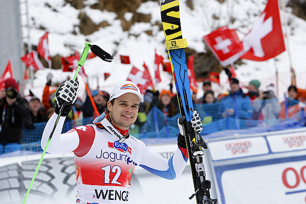 Audi Fis World Cup - Mens Downhill Photograph by Alexis Boichard/Agence Zoom
