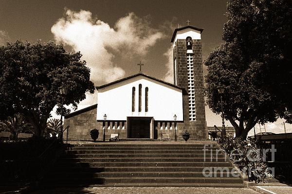 Azores Photograph - Azorean Church by Gaspar Avila