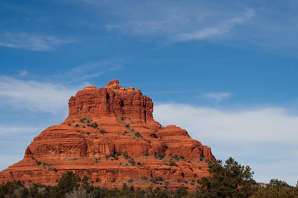 Red Rock Photograph - Bell Rock by Randy Bayne