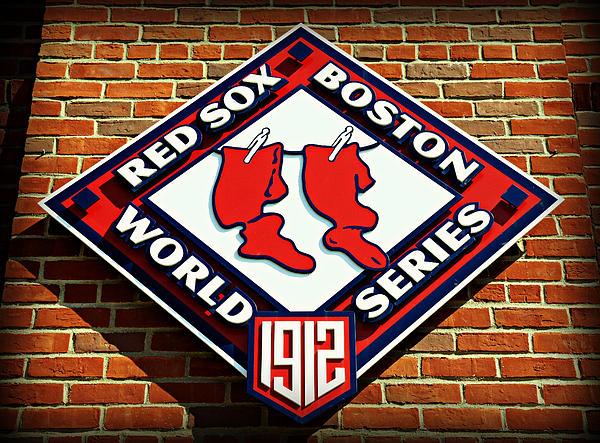 Boston Photograph - Boston Red Sox 1912 World Champions by Stephen Stookey