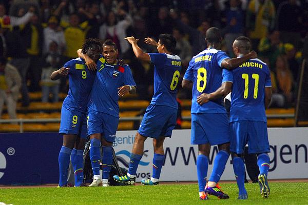 Brazil V Ecuador - Group B Copa America 2011 Photograph by Max Montecinos