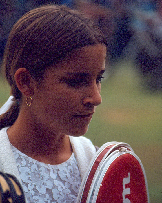Classic Photograph - Chris Evert by Retro Images Archive