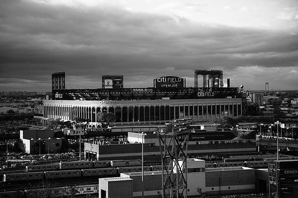 America Photograph - Citi Field - New York Mets by Frank Romeo