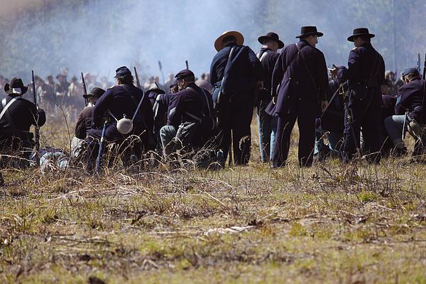 Civil Photograph - Civil War by Kitty Ellis