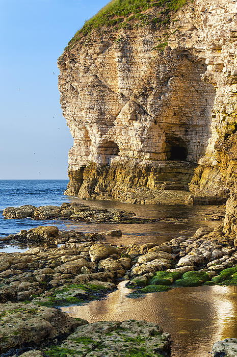 Bay Photograph - Cliff Side by Svetlana Sewell