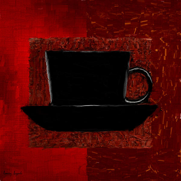 Coffee Digital Art - Coffee Passion by Lourry Legarde
